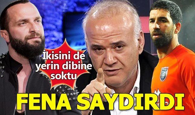 Ahmet Çakar hem Arda hem Berkay'ı yerin dibine soktu