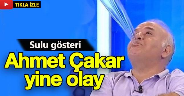 Ahmet Çakar'dan olay hareket!