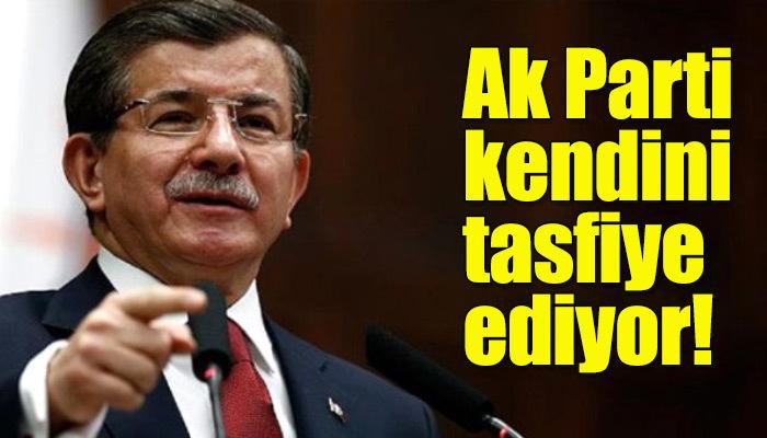 Ahmet Davutoğlu'ndan Ak Parti için şok sözler!