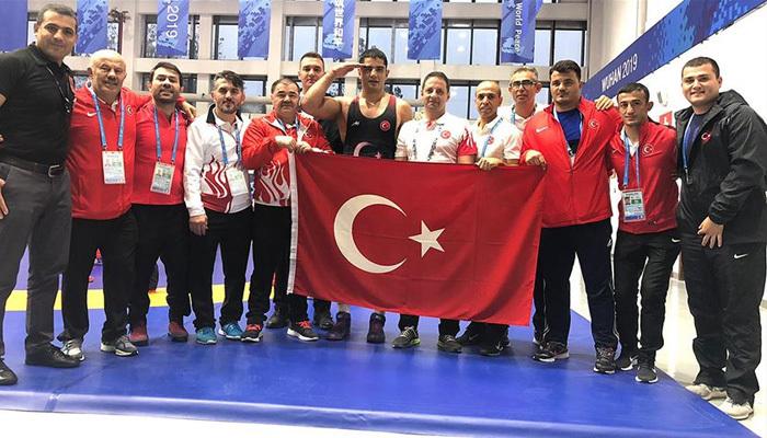 Akgül'den Askeri Olimpiyatlar altın madalya