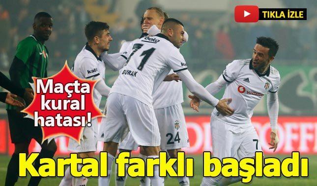 Akhisarspor 1-3 Beşiktaş maç özeti izle - Akhisar Beşiktaş maçında kural hatası mı var maç iptal mi edilecek?