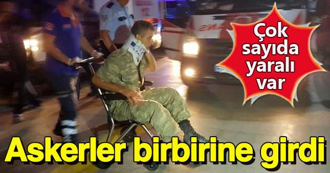 Alay Komutanlığı'nda hareketlilik: 1'i ağır 10 asker yaralı