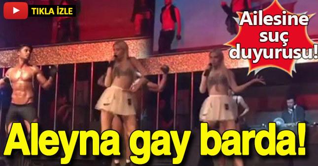 Aleyna Tilki gay barda!