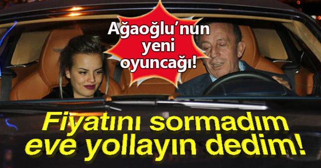 Ali Ağaoğlu'nun servet değerindeki otomobili