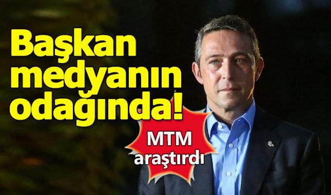Ali Koç medyada en çok konuşulan başkan oldu