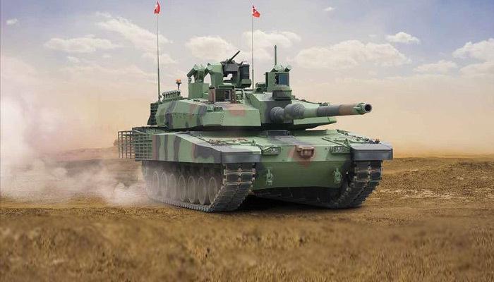 Altay tankı sahaya iniyor