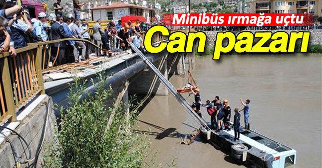 Amasya'da korkunç kaza