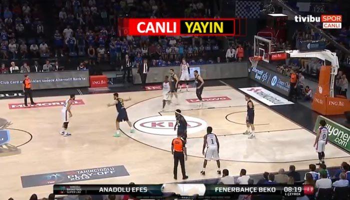 Anadolu Efes - Fenerbahçe canlı izle | Tivibu spor izle canlı yayın