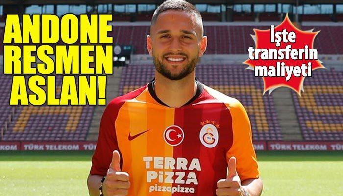 Andone resmen Galatasaray'da! İşte maliyeti...