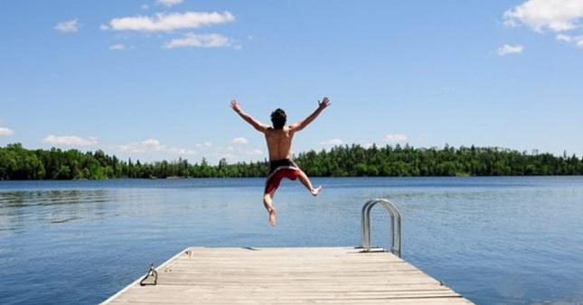 Aniden soğuk suya girmek kalp krizini tetikliyor