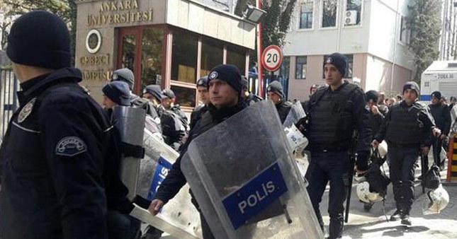Ankara Üniversitesi karıştı! Yaralılar var