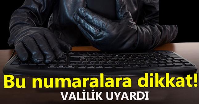 Ankara Valiliğinden dolandırıcı uyarısı geldi
