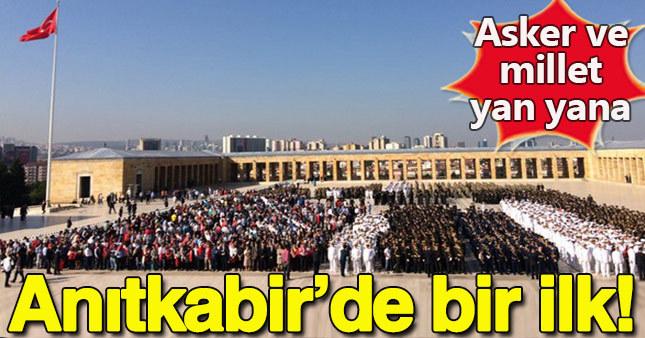 Ankara'da 30 Ağustos töreni