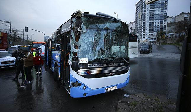 Ankara'da akıl almaz kaza