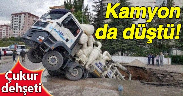 Ankara'da çukur dehşeti