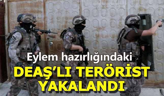 Ankara'da eylem hazırlığındaki DEAŞ'lı yakalandı