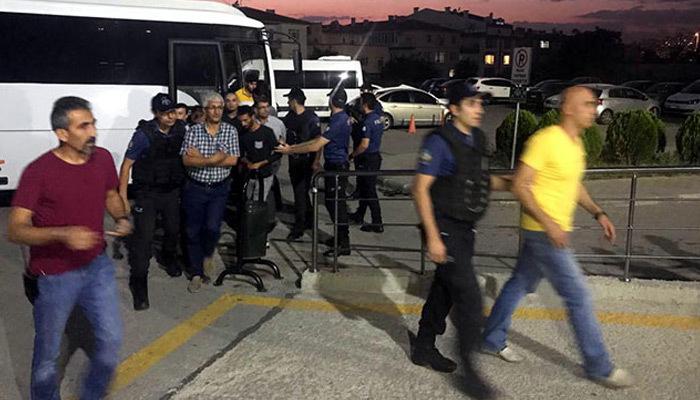 Ankara'da izinsiz gösteri yapmak isteyen gruba müdahale