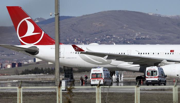 Ankara'da koronavürüs alarmı! Acil iniş yaptı