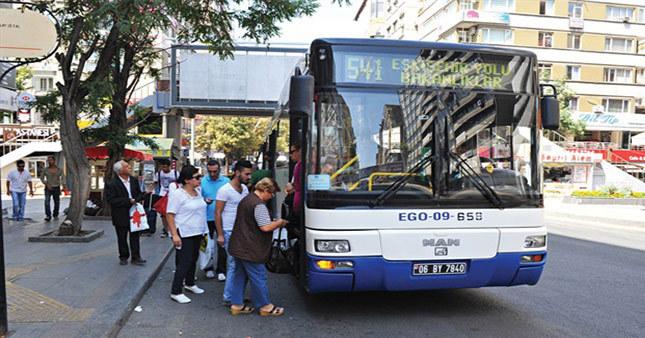 Ankara'da ücretsiz ulaşım süresi uzaltıldı