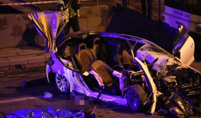 Ankara'da zincirleme kaza, ortalık savaş alanına döndü