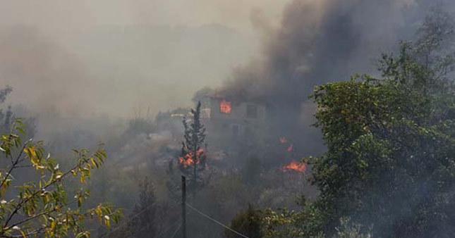 Antalya yanmaya devam ediyor