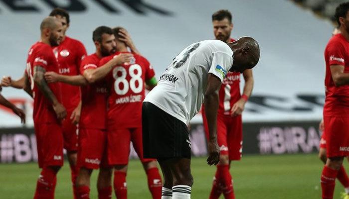 Antalyaspor Süper Lig'de Beşiktaş'a havlu attırdı