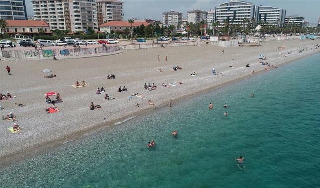 Antalya'ya son 4,5 ayda turist akını