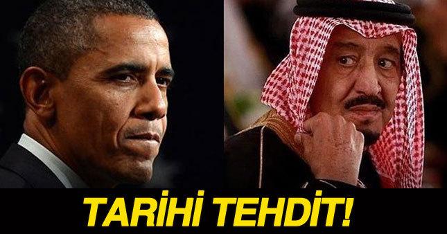 Arabistan'dan ABD'ye tarihi tehdit