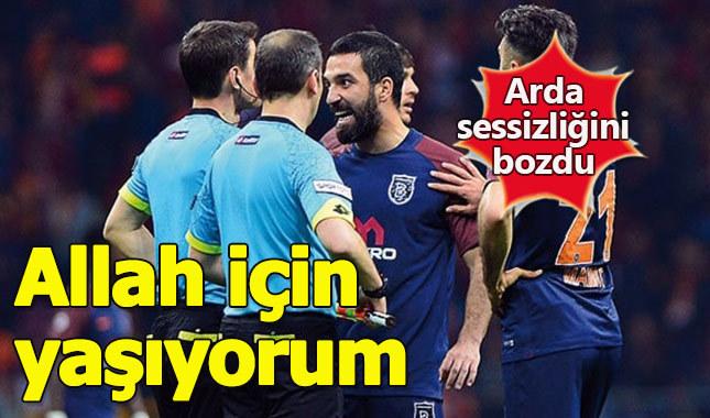 Arda Turan protestolara böyle yanıt verdi