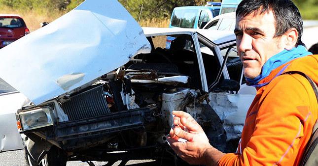 Arka Sokaklar dizisinin yönetmeni kaza geçirdi