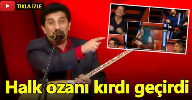 Aşık Kul Erdal'dan O Ses Türkiye'ye damga vuran tarifname