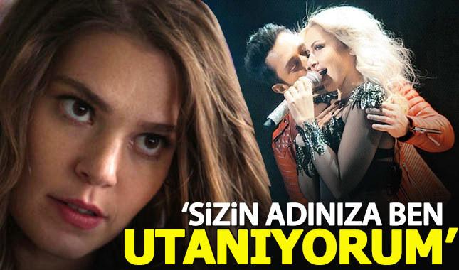 Hadise'den Murat Boz tepkisi: Sizin adınıza ben utanıyorum