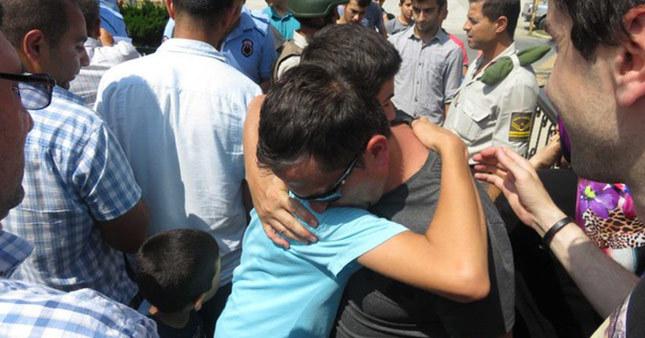 Askeri lise öğrencileri tahliye oldu