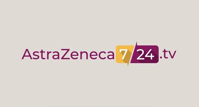 """AstraZeneca 7/24 TV"" hayata geçti"