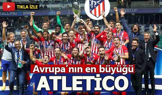 Atletico Madrid 4-2 Real Madrid Süper Kupa Maç Özeti