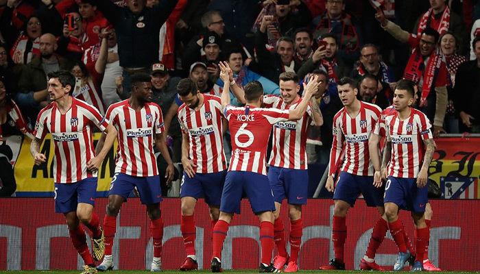 Atletico Madrid son şampiyonu devirdi