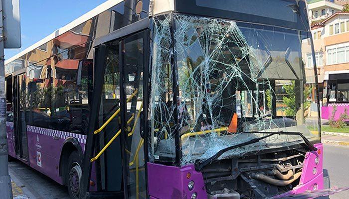Avcılar'da İETT otobüsü dehşet saçtı: 7 yaralı