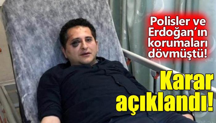 Avukat Sertuğ Sürenoğlu'nu döven polisler hakkında karar açıklandı!