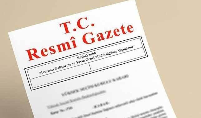 Bakanlar Kurulu kararları Resmi Gazete'de yayımlandı