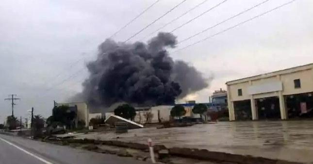 Balıkesir'de yağ fabrikasında patlama