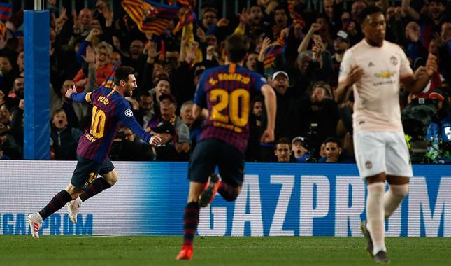 Barcelona, M.United'ı rahat geçti