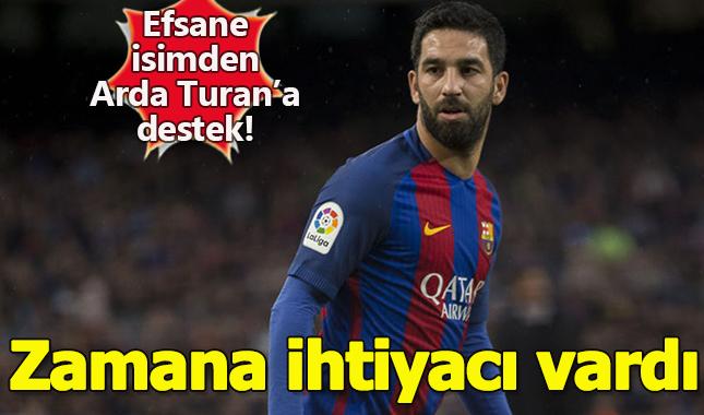 Barcelona'nın efsanesi Xavi, Arda Turan'ı destekledi!