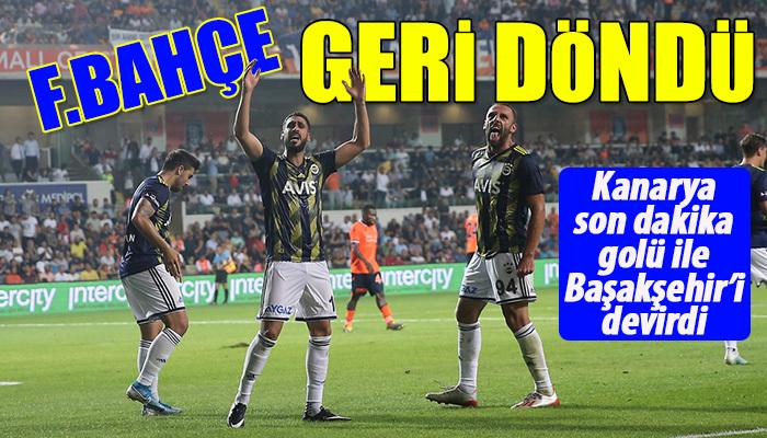 Başakşehir 1-2 Fenerbahçe | Maç özeti