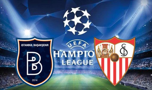 Başakşehir-Sevilla maçı saat kaçta hangi kanalda yayınlanacak?