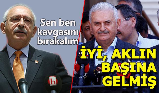 Başbakan'dan Kılıçdaroğlu'na yanıt: 'Aklı başına gelmiş demek ki.'