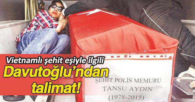 Başbakan'dan talimatı: Şehit eşi Vu Yhuy Tuanvi'ye maaş verilecek