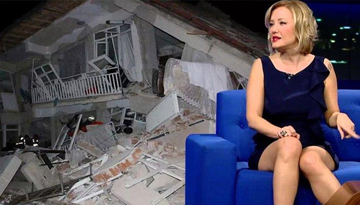 Berna Laçin'den tepki çeken deprem tweet'i