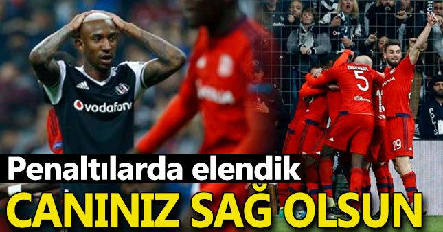 Beşiktaş 2-1 O.Lyon (Maç Özeti + Penaltılar)