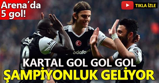 Beşiktaş 3-2 Adanaspor (Maç Özeti - Goller)