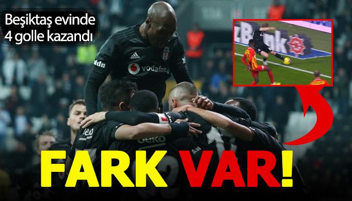 Beşiktaş 4-1 Kayserispor Maç Özeti